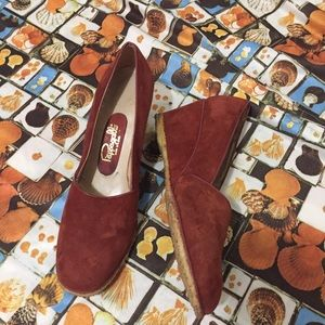 Vintage Pappagallo Wedge Heels